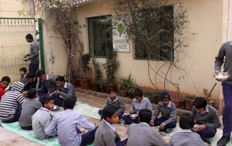 Pet Bottle Classroom: Kishangarh :: Samarpan Foundation
