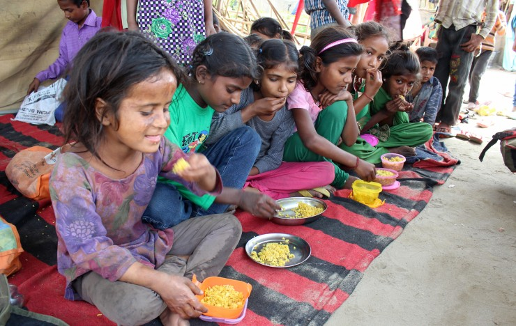 Community Kitchens: New Delhi