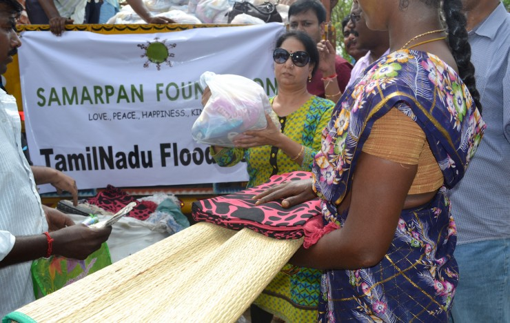 Progress: Tamil Nadu Flood Relief Programme